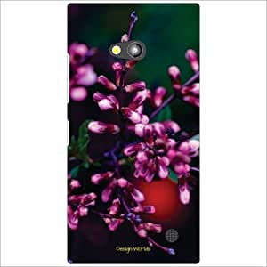 Design Worlds - Nokia Lumia 730 Designer Back Cover Case - Multicolor Phone...