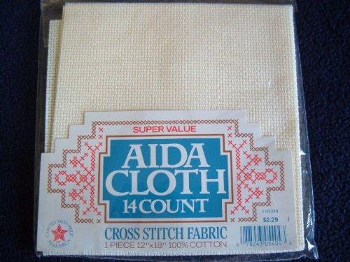 Aida Cloth 14 Count Cross Stitch Fabric 12