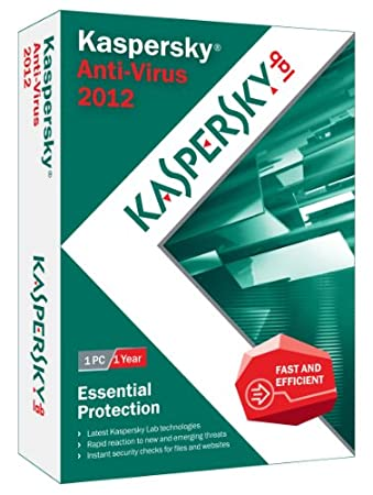 Kaspersky Anti-Virus 2012 - 1 User [Old Version]