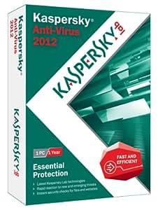 Kaspersky Anti-Virus 2012 - 1 User [Old Version]