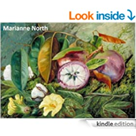 102 Color Paintings of Marianne North - British Victorian Naturalist and Botanical Painter (October 24, 1830 - August 30, 1890)