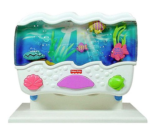 Ocean wonders aquarium baby toddler baby toys baby soothers for Fisher price fish bowl