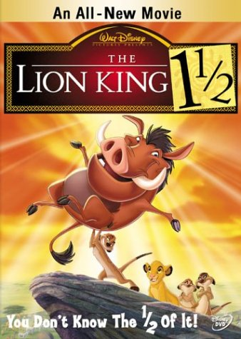 Cover art for  The Lion King 1 1/2