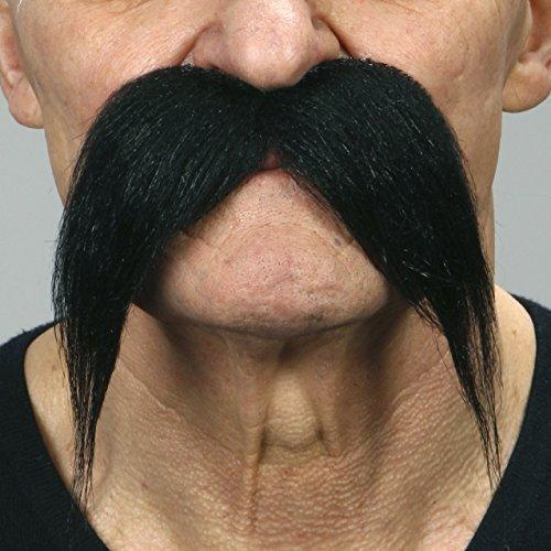 Kung-fu master black moustache