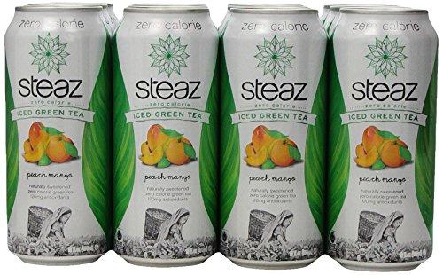 steaz-zero-calorie-iced-green-tea-peach-mango-16-ounce-pack-of-12