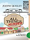 All Things Murder (Five Star Mystery Series)