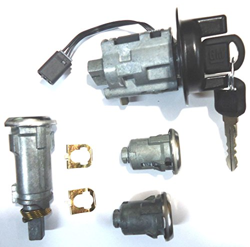 Chevy Cavalier OEM Ignition/doors/trunk Lock Key Cylinder Set with 2 Keys (Ignition Switch Chevy Cavalier compare prices)