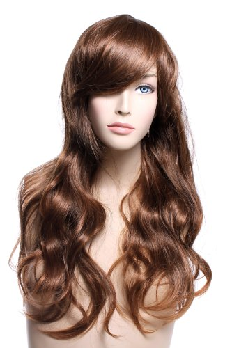Classic Long Brown Wig - Transgender Brown Wig