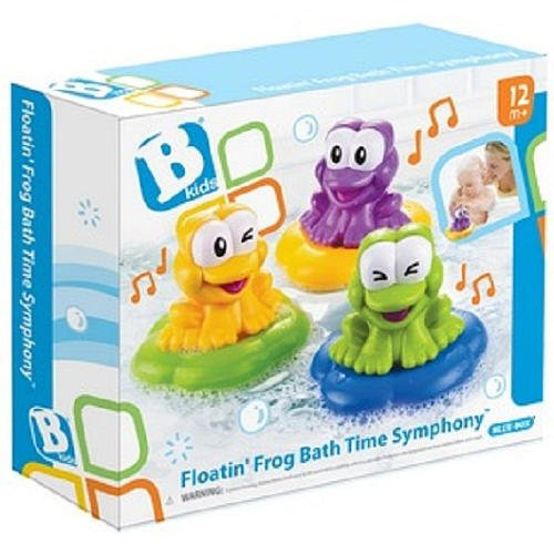 B kids Floating Frog Bath Time Symphony Bathtub Toy (Discontinued by Manufacturer) - 1