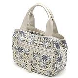 (サボイ)SAVOY ハンドバッグ SM16120101 ネイビーホワイト