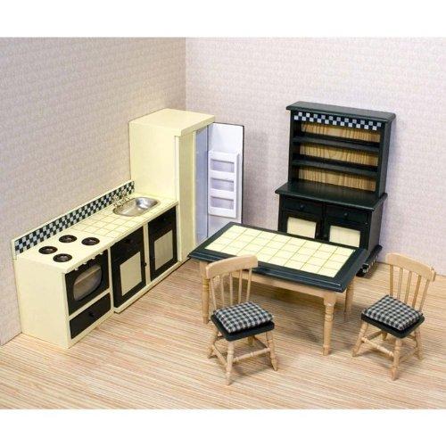 Imagen de Melissa & Doug Deluxe Doll-House Muebles de cocina