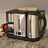 Breakfast Center ECO 3 in 1 / Kettle / Coffee Machine / Toaster Maker - Space-Saving and Convenient