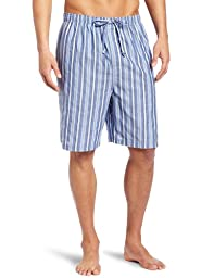 Nautica Men\'s Sultan Stripe Woven Pajama Short, Cornflower, Small