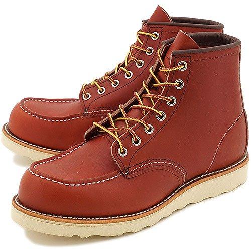REDWING レッドウィング ブーツ #8875 CLASSIC WORK BOOTS アイリッシュセッター クラシック ワークブーツ 6インチ モックトゥ ORO-RUSSET PORTAGE(RED WING) 8.0(26.0cm)