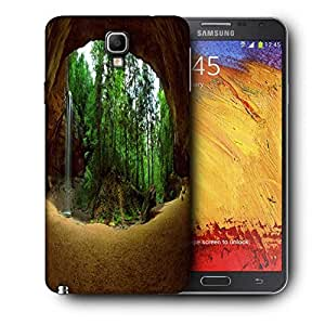 Snoogg Abstract Nature Printed Protective Phone Back Case Cover For Samsung Galaxy NOTE 3 NEO / Note III
