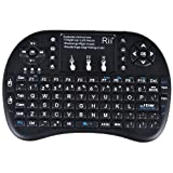 Rii® Mini i8+ 2.4G Wireless Keyboard with Touchpad QWERTY For PC HTPC Pad Google Andriod TV Box Updated Version