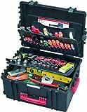 PARAT 6582.500-391 PARAPRO Werkzeugkoffer rollbar mit genähten Separationen, schwarz Rezessionen