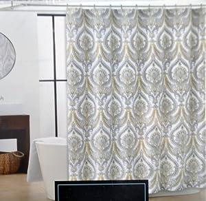 Amazon Com Cynthia Rowley Eloise Fabric Shower Curtain