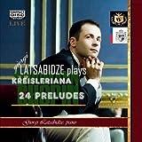 """Giorgi Latsabidze in Concert:  F.Chopin 24 Preludes; R.Schumann """"Kreisleriana."""" ~ piano Giorgi Latsabidze"""