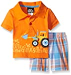 Boys Rock Baby 2 Piece Short Set Trac...
