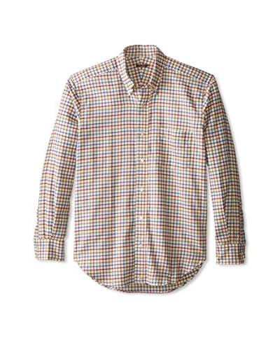 J. McLaughlin Men's Check Carnegie Button Down Regular Fit Shirt