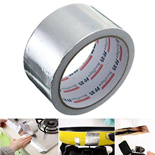 king-do-way-aluminium-foil-auto-adhesif-rouleau-etanche-ruban-metallique-reflechissant-chaleur-ruban