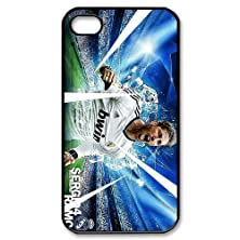 buy Stylish Design Football Player Football Player Sergio Ramos Cool Man Pictures Cool Man Pictures High Quality Phone Case Laser Cover Shell For Iphone 4/4S-4