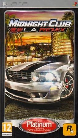 Midnight Club: LA Remix - Platinum Edition (PSP)