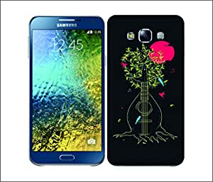 Galaxy Printed 2443 Music In Nature Man Hard Cover for Samsung GRAND 2