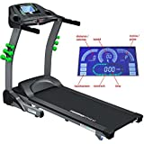 Maxima Fitness MF-3000-TT-Tracksport Touchscreen Console Control Auto-Incline Folding Treadmill - Grey