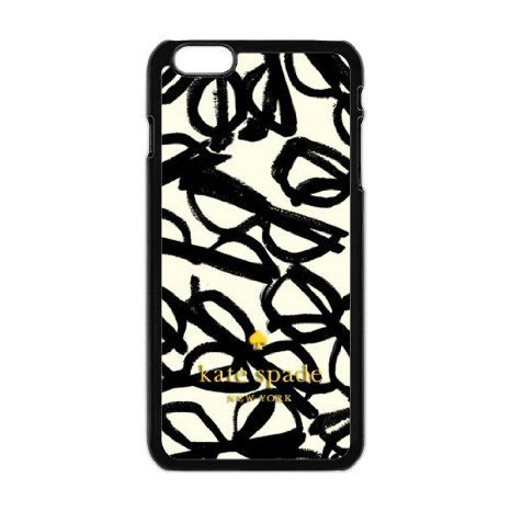 iphone-6-kate-spade-new-york-luxury-brands-print-black-white-case-with-hard-phone-case-cover-for-for