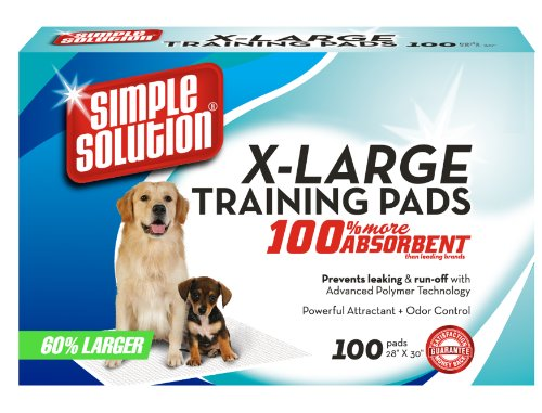 Simple Solution Extra Large Training Pads, 100 pads