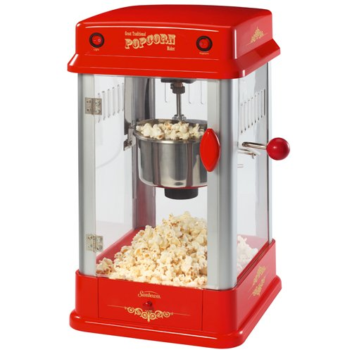 Sunbeam FPSBPP7310-000 Theatre-Style Popcorn Maker, Red (Theatre Popcorn Machine compare prices)