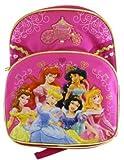 Disney Princess Backpack - Kid size Royal Coach Princess School Bag
