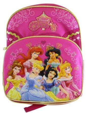 Amazoncom Disney Princess Backpack Kid Size Royal