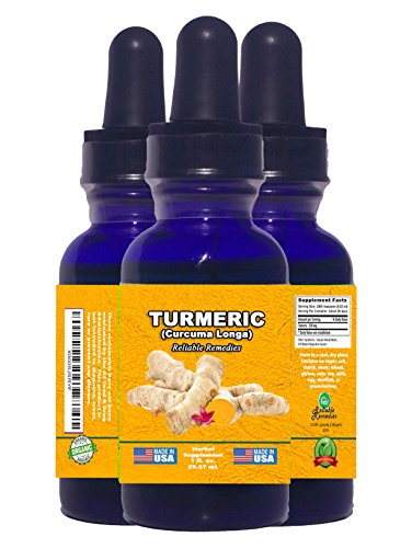 2 OUNCE! - TURMERIC (Curcuma Longa) BY RELIABLE REMEDIES! - FREE HOME HERBAL HINTS eBook! - ORGANIC LIQUID EXTRACT! - MADE IN AMERICA! - ALCOHOL FREE! - 100% MONEY BACK GUARANTEE!** SALE NOW! (Free Ranging Cats compare prices)