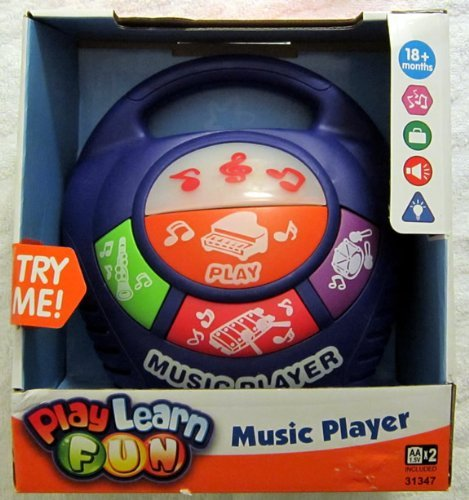 Kid Connection My First Music Player - 1