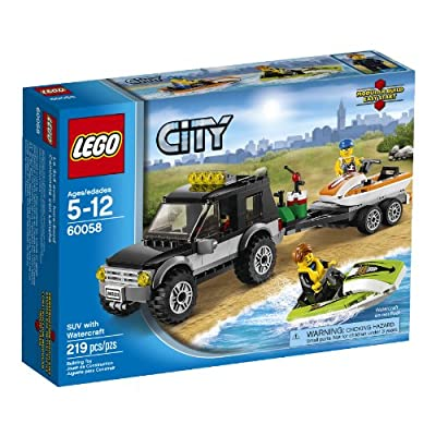 LEGO City Great Vehicles 60058 SUV with Watercraft from LEGO City Great Vehicles