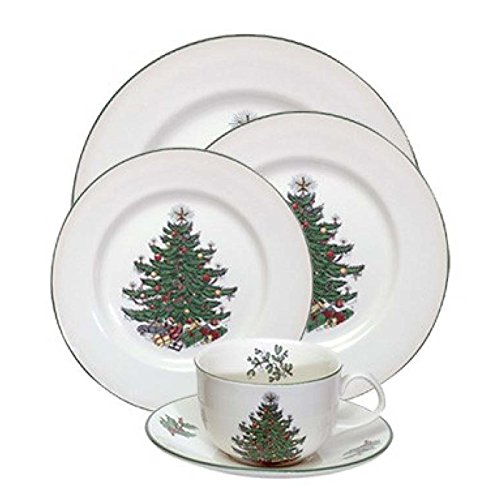 Cuthbertson Original Christmas Tree Traditional 20 Piece Place Setting Cuthbertson Christmas Tree