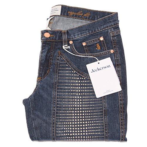 7439Q jeans donna JEKERSON REGULAR FIT AUTHENTIC pantalone borchie jeans woman [31]