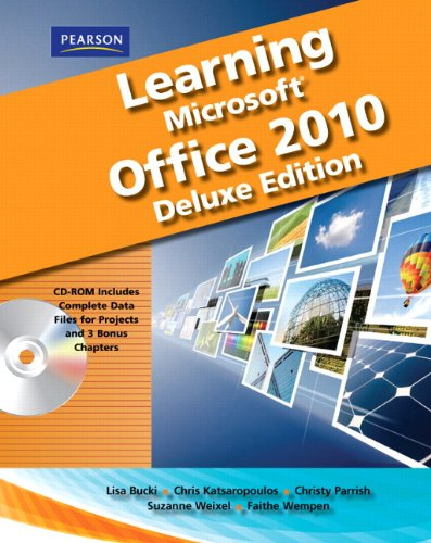 Learning Microsoft Office 2010 Deluxe, Student Edition