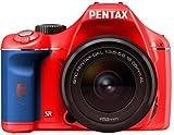 PENTAX デジタル一眼レフカメラ K-x レンズキット レッド/ブルー 025