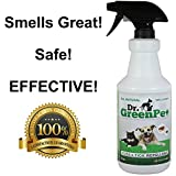 Dr Dry Green Pet All Natural Flea and Tick Spray, 32 oz