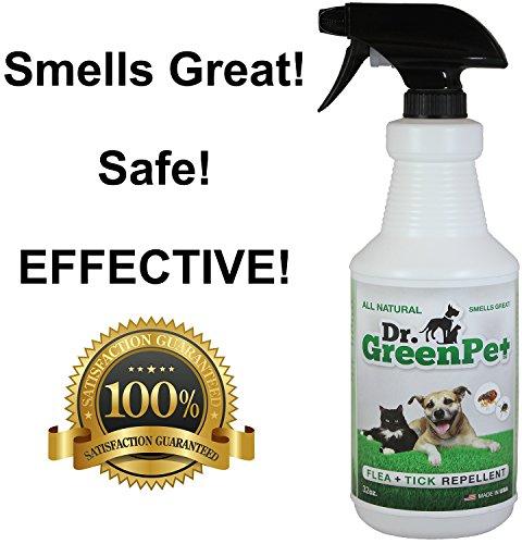 Dr. GreenPet All Natural Flea and Tick Spray 32 oz