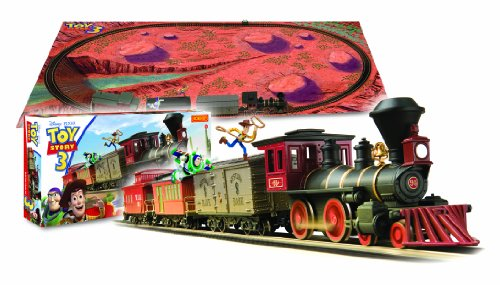 New Toy Story 3 Train : Hornby r disney toy story oo gauge electric train