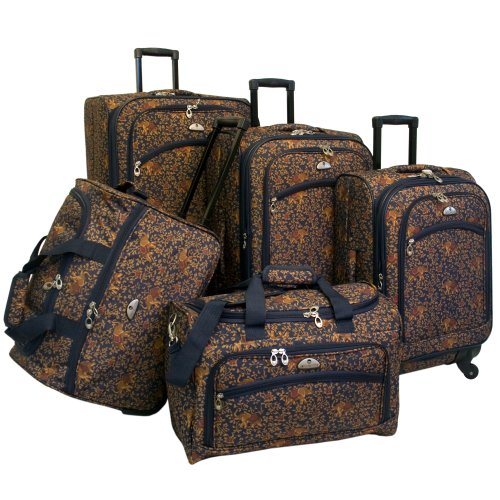 american-flyer-luggage-budapest-5-piece-spinner-set-metalic-blue-one-size