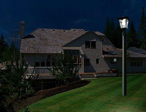 lamp post lights outdoor lights yard lights home decor garage front. Black Bedroom Furniture Sets. Home Design Ideas