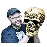 Giant Skull Halloween Prop 9-1/2l X 13-1/2w X 12-1/2d by Q&A