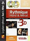 Lebot La Guitare Rythmique Hard & Metal En 3D Guitar Bk/Cd/Dvd French