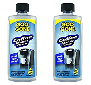 Goo Gone Coffee Maker Cleaner, 8 Ounce (2-Pack) from Goo Gone